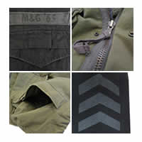 M65 Infantry Jacket Features