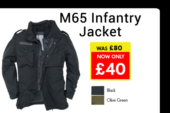 50% Off M65 Infantry Jackets