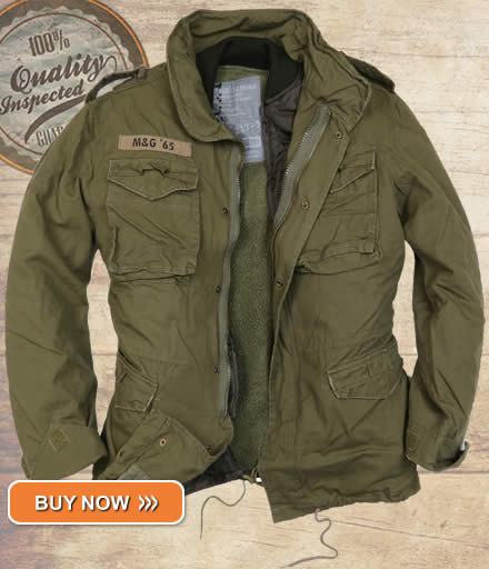 Olive Green M65 Infantry Jacket