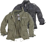 Fleece Lined M65 Regiment Jacket