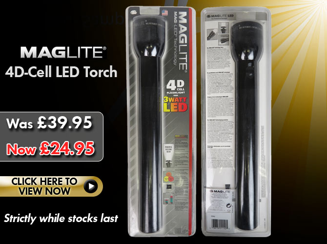 Mag-lite 4D-Cell LED Torch