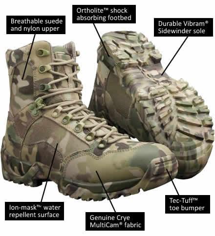 Magnum Multicam Sidewinder Boots