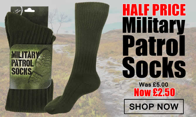 Half Price Military Patrol Socks