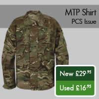 MTP Shirt PCS Issue