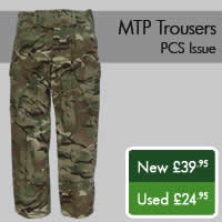 MTP Trousers PCS Issue