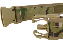 Multicam combat belt buckle