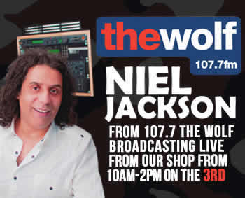 Niel Jackson from 107.7 The Wolf