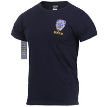 Embroidered NYPD T-Shirt