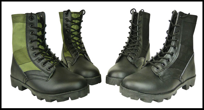 Olive Green Jungle Boots
