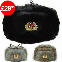 Rabbit Fur Cossack Hats