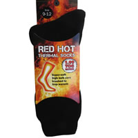 Red Hot Thermal Socks
