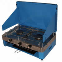 Double Burner and Grill