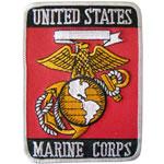 US Marine Corps Cloth Badge