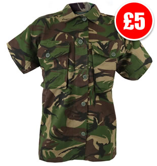 Soldier 95 Style Short Sleeve Shirt
