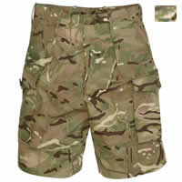 British MTP Combat Shorts