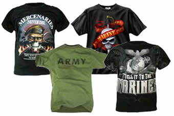 Army T-shirts