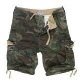 Vintage Combat Shorts
