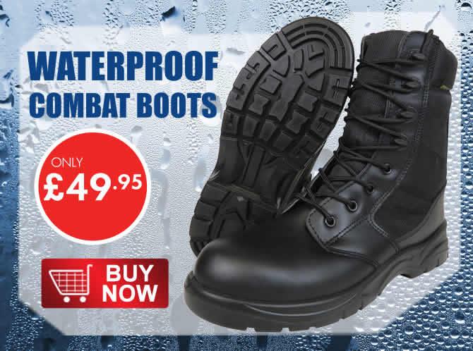 Waterproof Combat Boot