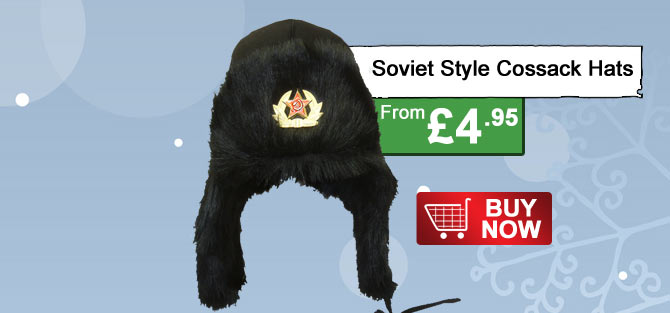 Soviet Style Cossack Hat