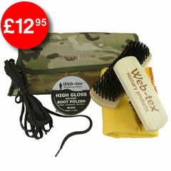 Military Boot Care Kit