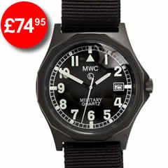 MWC Black PVD G10 Stealth Watch