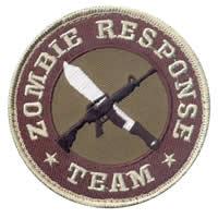 Zombie Response Team Cloth Badge